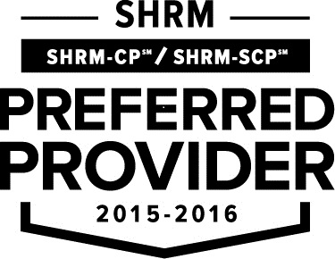 SHRM Preferred Provider 2015-2016 logo